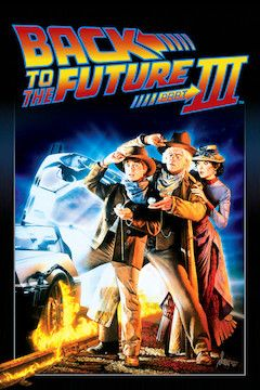 Back to the Future III movie poster.