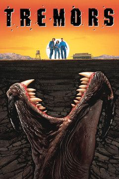 Tremors movie poster.