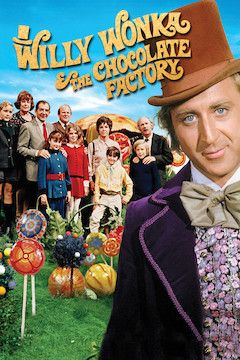 Poster for the movie Willy Wonka and the Chocolate Factory