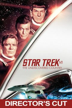 Star Trek VI: The Undiscovered Country movie poster.