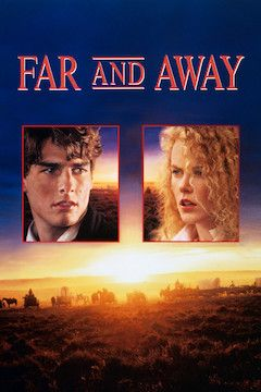 Far and Away movie poster.
