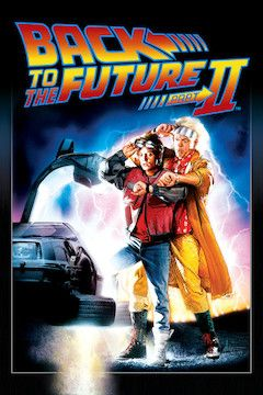 Back to the Future II movie poster.