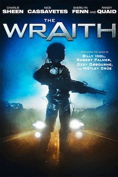 The Wraith movie poster.