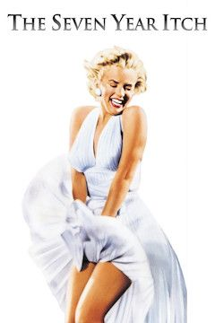 The Seven Year Itch movie poster.