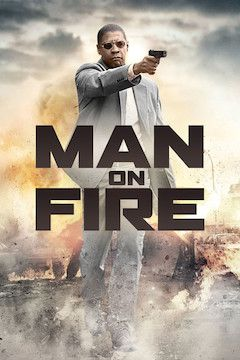 Poster for the movie Man on Fire