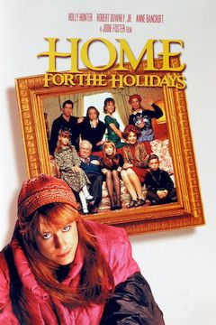Home for the Holidays movie poster.