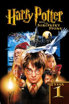 Harry Potter and the Sorcerer's Stone movie poster.
