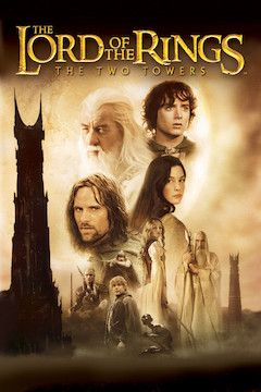 The Lord of the Rings: The Two Towers movie poster.