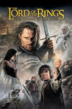 The Lord of the Rings: The Return of the King movie poster.