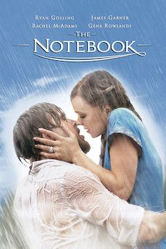 The Notebook movie poster.