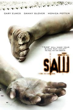 Saw movie poster.