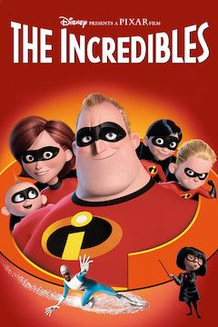 Poster for the movie The Incredibles