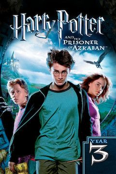 Harry Potter and the Prisoner of Azkaban movie poster.