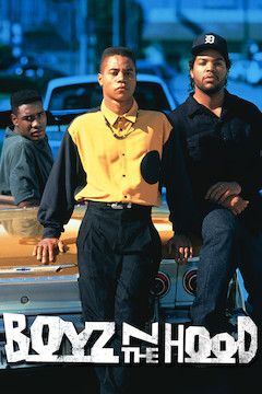 Boyz 'N the Hood movie poster.