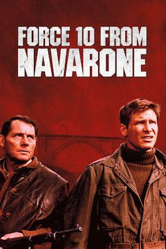 Force 10 From Navarone movie poster.