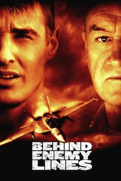 Behind Enemy Lines movie poster.