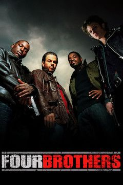 Four Brothers movie poster.