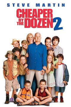 Cheaper by the Dozen 2 movie poster.