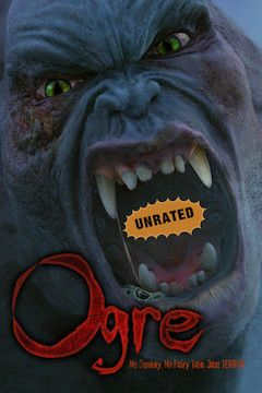 Ogre movie poster.