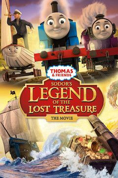 Thomas & Friends: Sodor's Legend of the Lost Treasure movie poster.