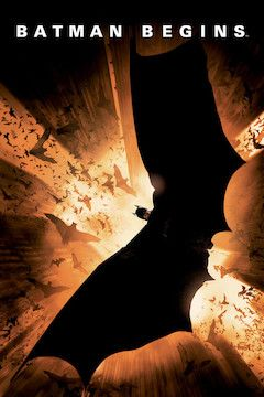 Batman Begins movie poster.
