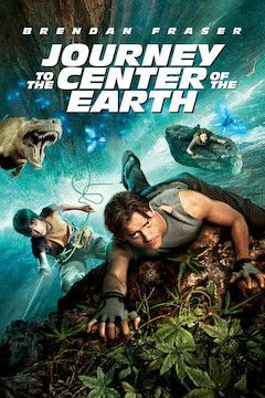 Journey to the Center of the Earth movie poster.