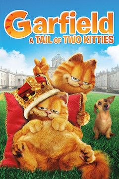 Garfield: A Tail of Two Kitties movie poster.