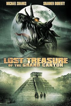 The Lost Treasure of the Grand Canyon movie poster.