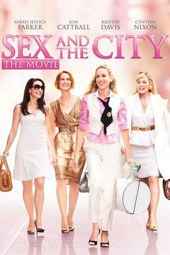Sex and the City movie poster.