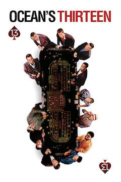 Ocean's Thirteen movie poster.