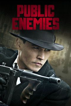 Public Enemies movie poster.
