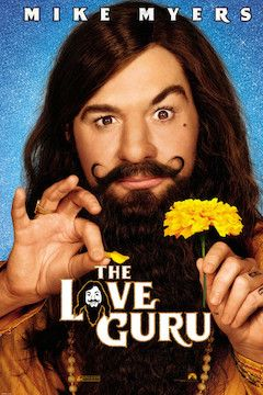 The Love Guru movie poster.