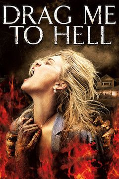 Drag Me to Hell movie poster.
