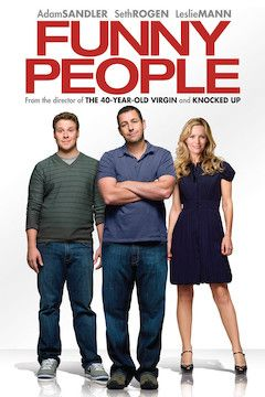 Funny People movie poster.