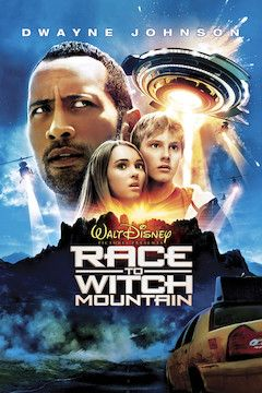 Race to Witch Mountain movie poster.