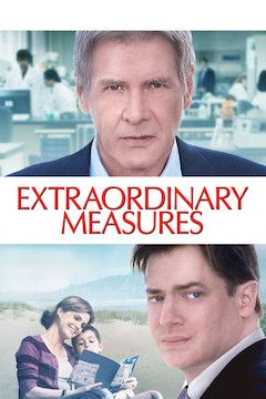 Extraordinary Measures movie poster.