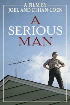 A Serious Man movie poster.