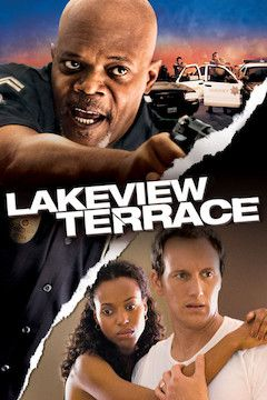 Lakeview Terrace movie poster.
