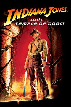 Poster for the movie Indiana Jones and the Temple of Doom