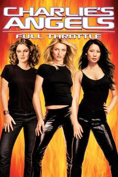 Charlie's Angels II: Full Throttle movie poster.
