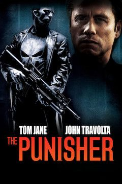 The Punisher movie poster.