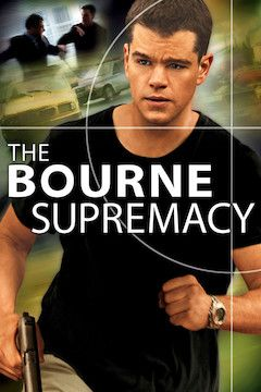 The Bourne Supremacy movie poster.