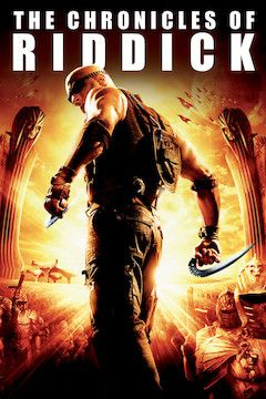 The Chronicles of Riddick movie poster.