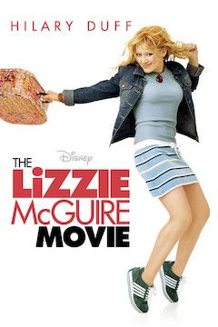The Lizzie McGuire Movie movie poster.