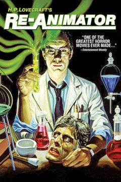 Poster for the movie Re-Animator