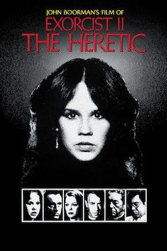 Exorcist II: The Heretic movie poster.