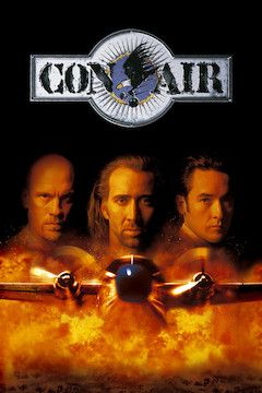 Con Air movie poster.