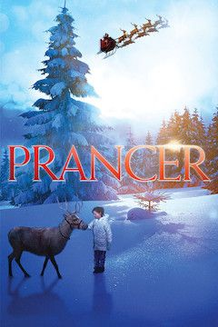 Prancer movie poster.
