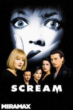 Scream movie poster.