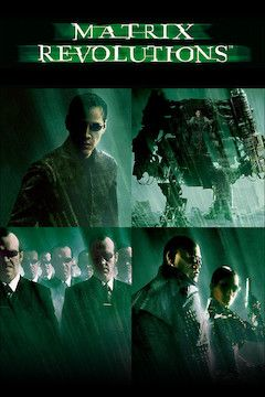 The Matrix Revolutions movie poster.